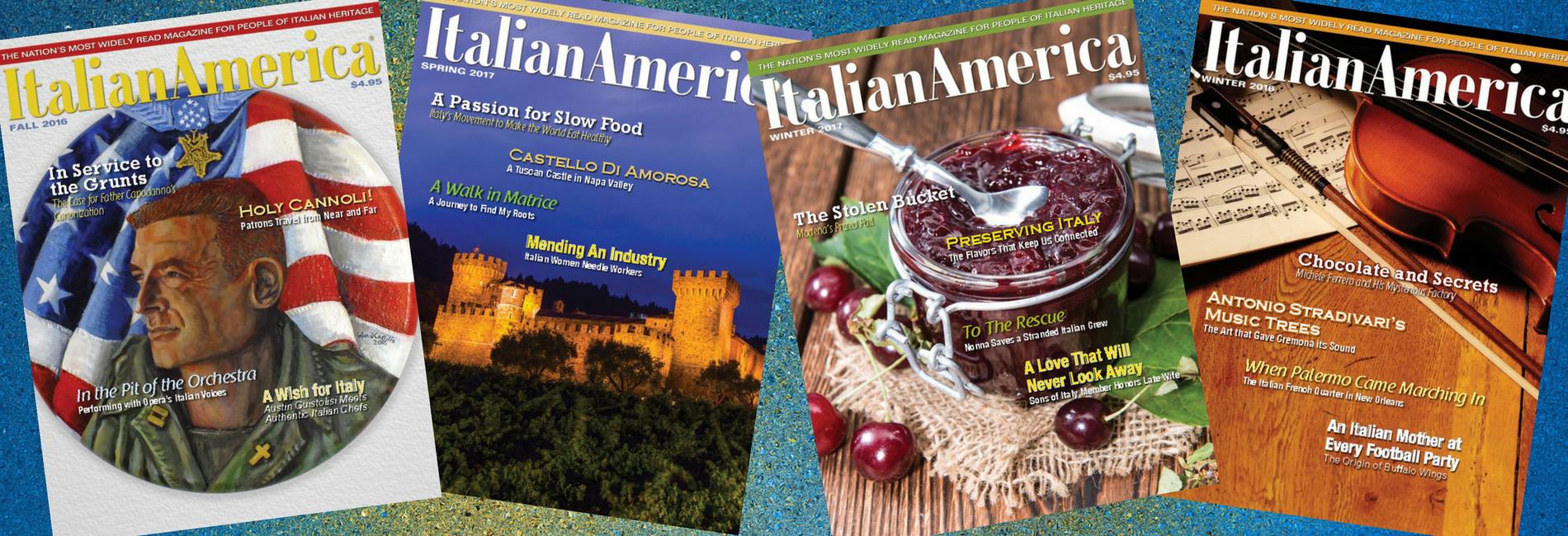 Italian America® Magazine: The Perfect Gift!